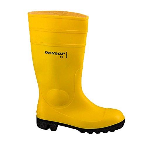 Dunlop Gummistiefel Protomaster S5, Farbe:gelb, Größe:37
