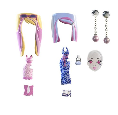 Barbie Girls Glam Gowns Pack - Pink and Grey