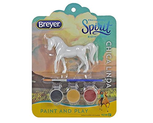 Spirit Paint and Play Dreamworks Riding Free Stablemates (Chica Linda)