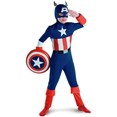 Captain America Toddler Muscle by Disguise