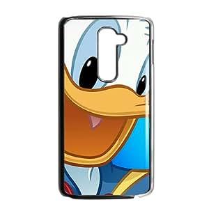 QQQO Donald Duck Phone Case for LG G2 Case