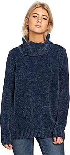 (Volcom Women's Cozy On Over Sweater Sea Navy Small)