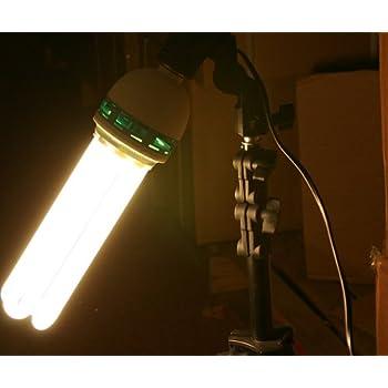 3200K Warn CFL Grow Light Hydroponic Full Spectrum Bulb 105 Watt Bulb  105W3200K