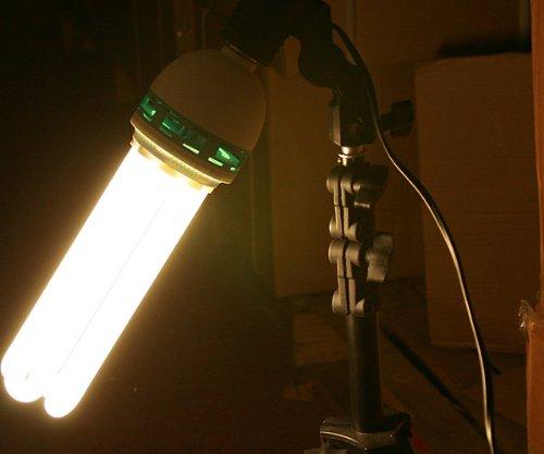 3200K Warn CFL Grow Light Hydroponic Full Spectrum Bulb 105 Watt Bulb...