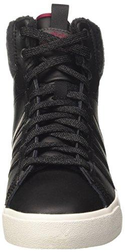 Daily Core QT Hohe Utility adidas Mystery Damen Black Schwarz W Mystery Sneaker Utility Black Black Ruby CF Black WTR Core Ruby wqwEZY