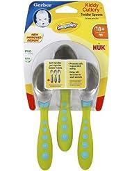 Gerber Graduates Kiddy Cutlery 3 Piece