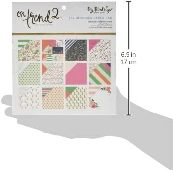 Multicolor Kelly Creates 345793 Dotted Paper Pad