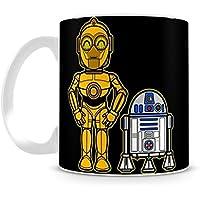 Caneca Star Wars C3PO & R2D2