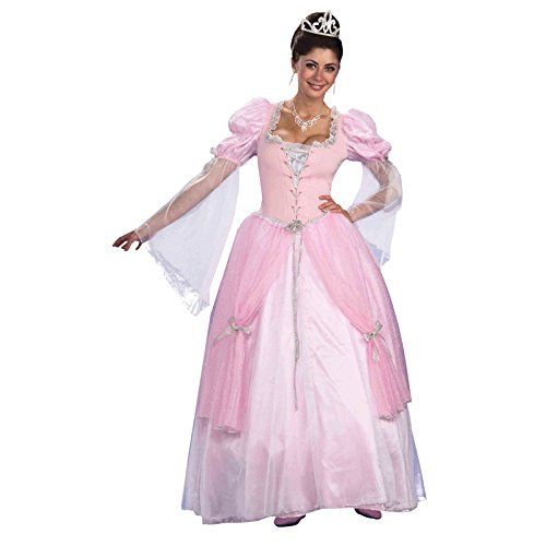[Forum Fairy Tales Fashions Fairy Tale Princess Dress, Pink, Standard Costume] (Revealing Costumes)