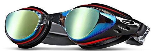 WAVE Swim Goggles, Swimming Goggles No Leaking Anti Fog UV Protection Triathlon Swim Goggles with Free Protection Case for Adult Men Women Youth Kids Child - Triathlon Gear Swimming
