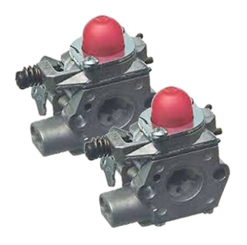 Weed Eater Poulan Craftsman Trimmer (2 Pack) Replacement Carburetor Assembly # 530071635-2pk by Poulan
