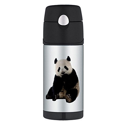 Thermos Travel Water Bottle Panda Bear Youth