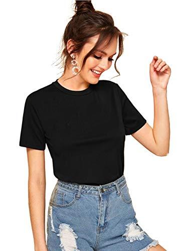 YOUNG TRENDZ Women Plain Cotton T Shirts