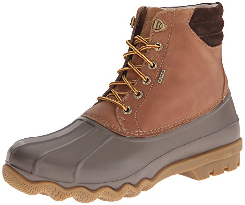 SPERRY Men's Avenue Duck Rain Boot, tan/Brown, 10 M US
