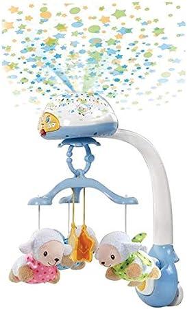 VTech - Móvil proyector cuenta ovejitas dulces sueños para el bebé, juguete de cuna con mando a distancia (3480-503322)