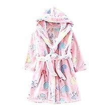 Toddlers/kids/baby Soft Fleece Bath Robe Bathrobe Children's Pajamas Sleepwear