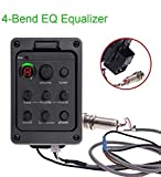 4 Band EQ Equalizer Acoustic Guitar Preamps Piezo