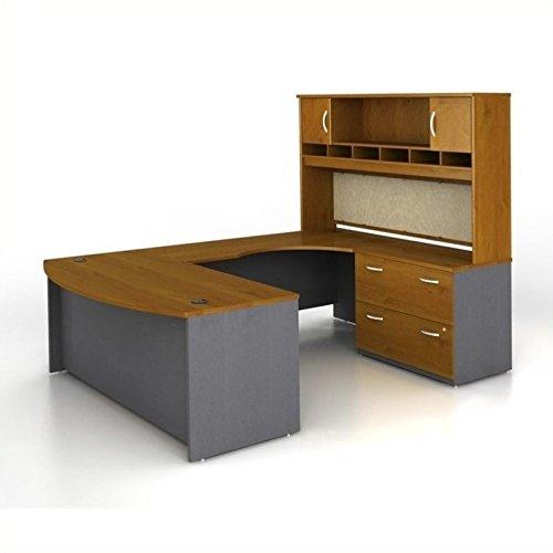 - Bush Business Series C 4-Pc.U-Shape Right-Hand Computer Desk