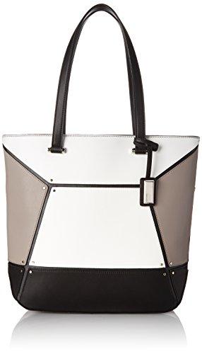 Nine West Nailed It Tote Shoulder Bag Black Multi One Size