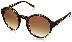 Elie Tahari Women's EL 126 TS Round Sunglasses, Tortoise, 160 mm