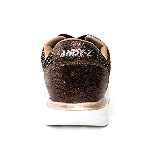 para Zapatillas Z Casual Deporte Zapatillas Bronce On Mujer Outdoor para ANDY Slip Blade StXfwxqwd