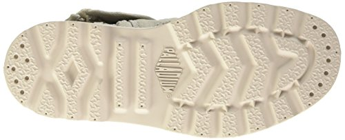 Palladium Bgy Low Lp Mtl K - Zapatillas de deporte Unisex Niños Gris - Gris (D36 Moonstruck/Cement Gray)