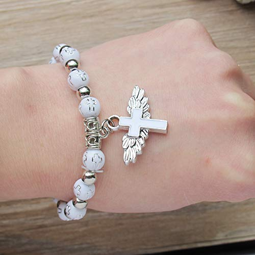Angel Wing Cross Bracelet Favor (12 PCS) for