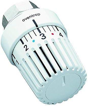 UniLH Oventrop 1-5 - Termostato con posición Cero, 7-28 °C, Color Blanco