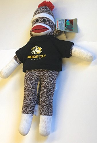 (Plushland Sock Monkey Michigan Tech Beanie)