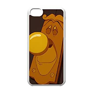 Disney Alice In Wonderland Character The Doorknob funda iPhone 5c caja funda del teléfono celular del teléfono celular blanco cubierta de la caja funda EEECBCAAB17348