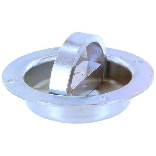 Rotating Pan Fitting / Recessed Mount D-Ring Tie Down (6,000 lbs. Break Strength)