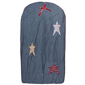 Patch Magic Diaper Stacker, Homespun Stars, 12″ x 23″