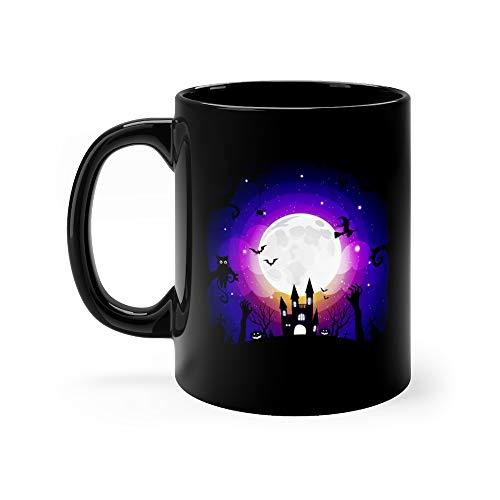 Halloween Element Background With Copy Space Monster Tea Fun Mug 11oz -