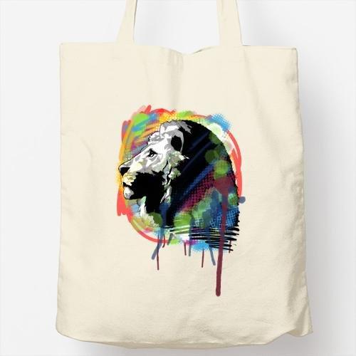 Bolso Totebag - Diseño original - Lion colors
