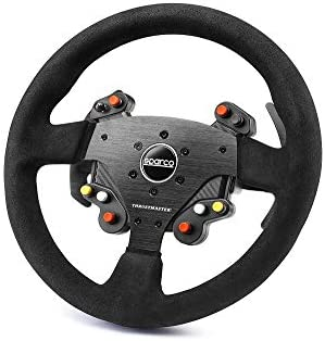 ThrustMaster - Volante TM Rally Wheel Add-On Sparco R383 Mod ...