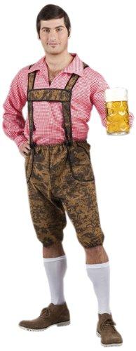 Boland 83570 - Erwachsenenkostüm Bayrischer Bursche Werner, Hose und Shirt, Größe 50/52