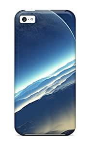 For Iphone 5c Tpu Phone Case Cover(planet Space) by lolosakes
