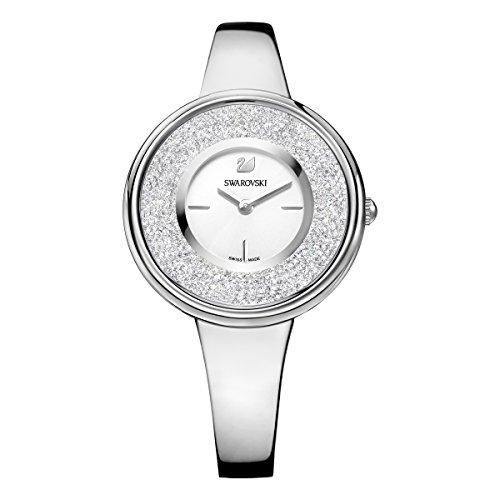 (Ladies' Swarovski Crystalline Pure Silver Tone Watch 5269256)