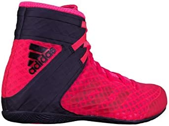 Adidas Combat Speed 5 Wrestling Shoes (Red Dark Red)