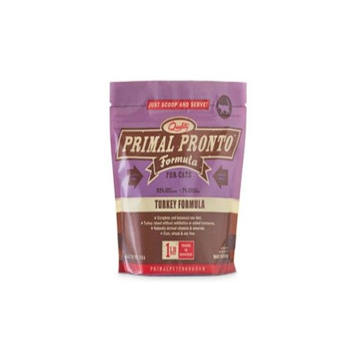 Primal Pronto Raw Feline Turkey Formula