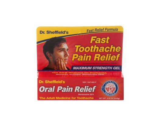 Adulte orale Pain Relief Gel Oral Gel Soulagement de la douleur, Adulte, 33 oz