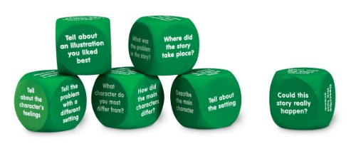 Learning Resources Retell A Story Cubes, 6-Pack