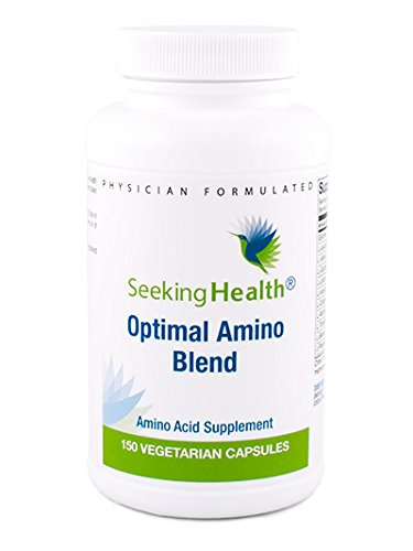 - Optimal Amino Blend | 20 Essential And Non-Essential Free-Form Amino Acids Per Dose | 150 Easy-To-Swallow Vegetarian Capsules