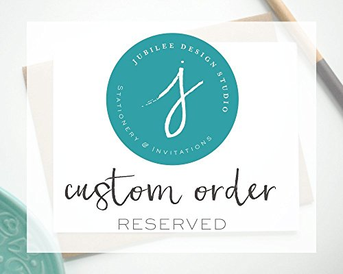 Custom Small Notecards by Jubilee Design Studio