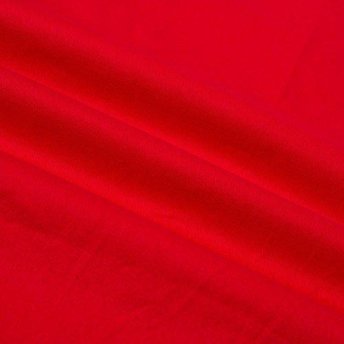 Cuello Vintage Polca del Bajo Vestido Negros Vestido Cintura Blanco Punto Noche Vestidos Baile coctel Color Fiesta Mujeres Dress Primavera Grande Sin Puntos Rojo Manga Retro Beauty7 Rojo de Temperamento d7nqAd