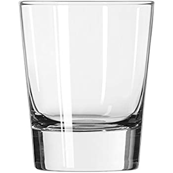 Libbey Geo 13-1/4-Ounce Double Old Fashioned Glass, Set of 12
