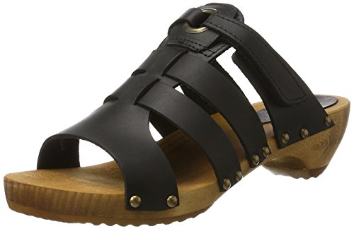Sanita Oline Sandal - Mules Mujer Schwarz (Black)