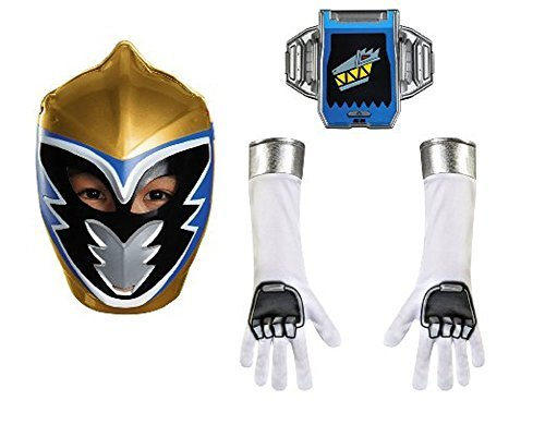 Disguise Gold Ranger Dino Charge Child Accessory Kit Costume by Disguise (Power Rangers Gold Ranger Costume)