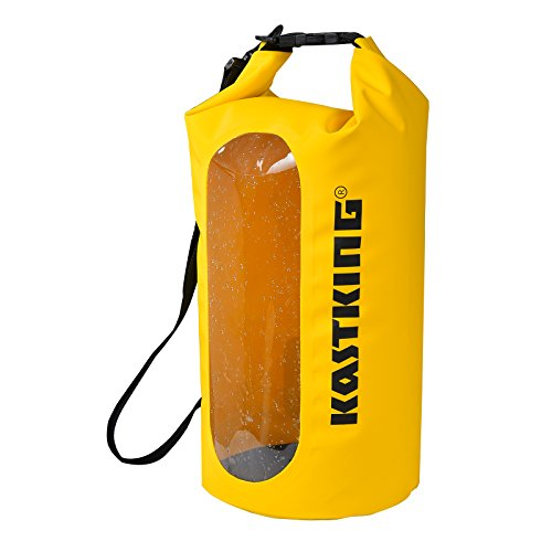 KastKing Dry Bag Waterproof Roll Top Sack for Beach, Hiking, Kayak, Fishing, Camping, and Other Outdoor Activities (Large Dry Sack)