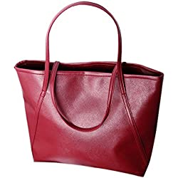 JD Million shop simple leather women increased Messenger Bags Shopping Bag New